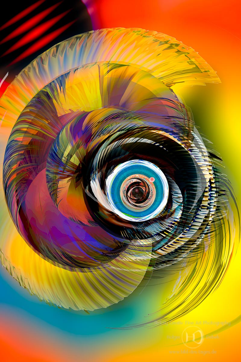 Digital Art- The unseen beauty around a black hole