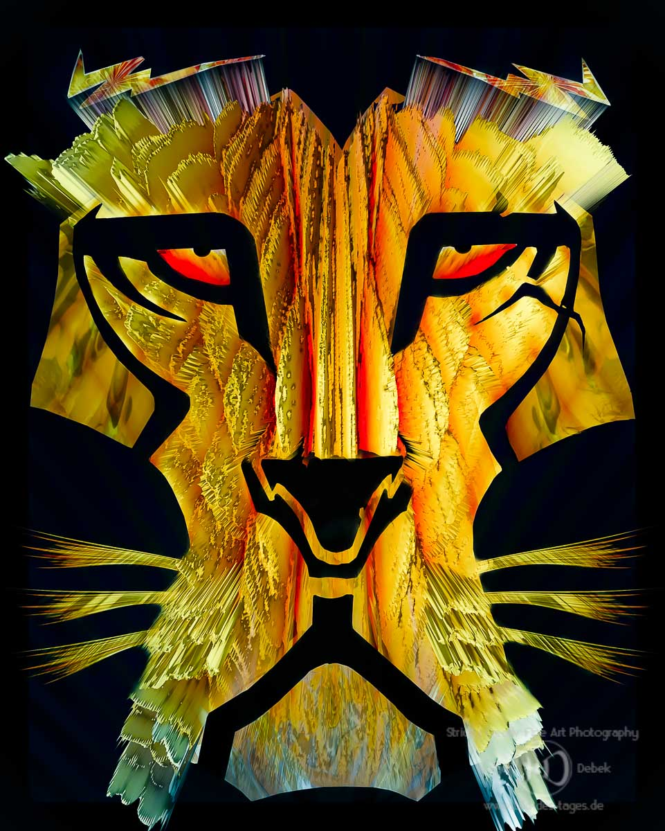 Digital Art-Lion