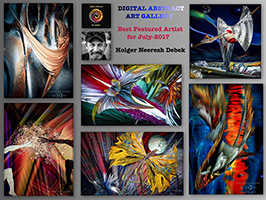 digital abstract art gallery